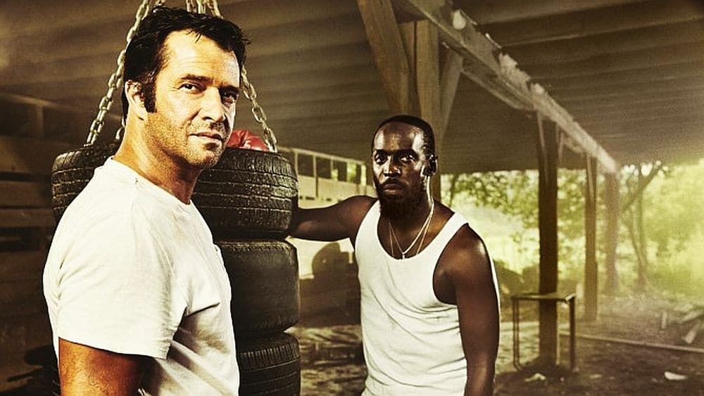 James Purefoy as Hap Collins and Michael Kenneth Williams as Leonard Pine in Hap and Leonard