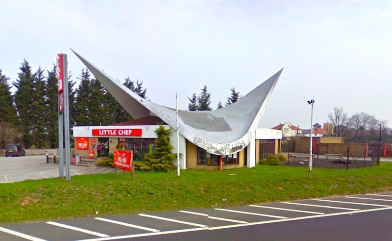 The hyperbolic paraboloid Little Chef