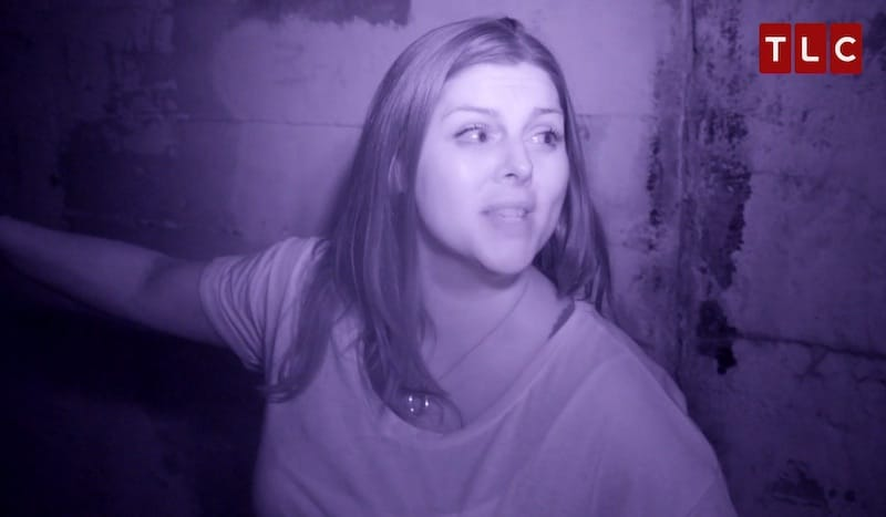 Katrina talks about the shadow figures at Waverly Hills Asylum on Paranormal Lockdown