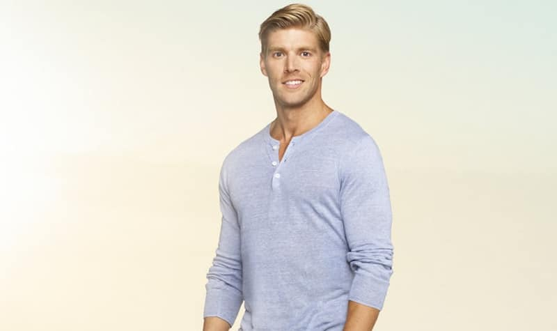 Kyle Cooke in his promotional photo for Bravo's Summer House