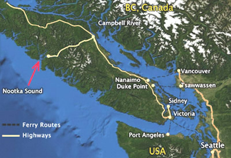Colony Of Vancouver Island