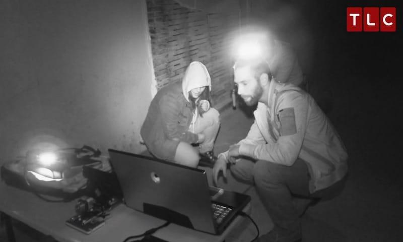 The team check their equipment