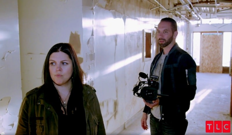 Katrina and Nick investigate the St. Ignatius Hospital on Paranormal Lockdown