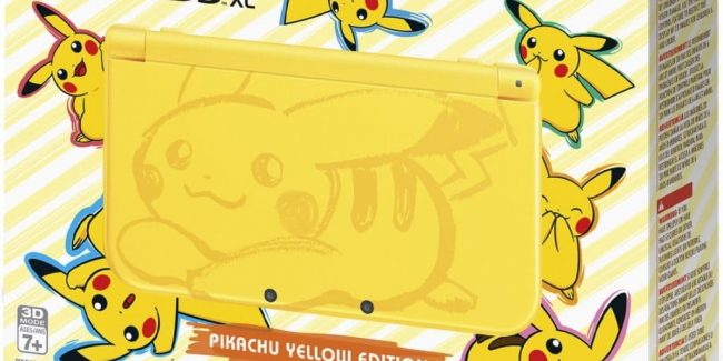New Nintendo 3DS XL Pikachu Yellow Edition is adorable