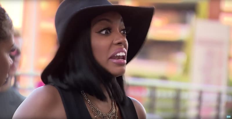 Porsha Williams argues with Kenya Moore over her 'anger management' on this week's Real Housewives of Atlanta