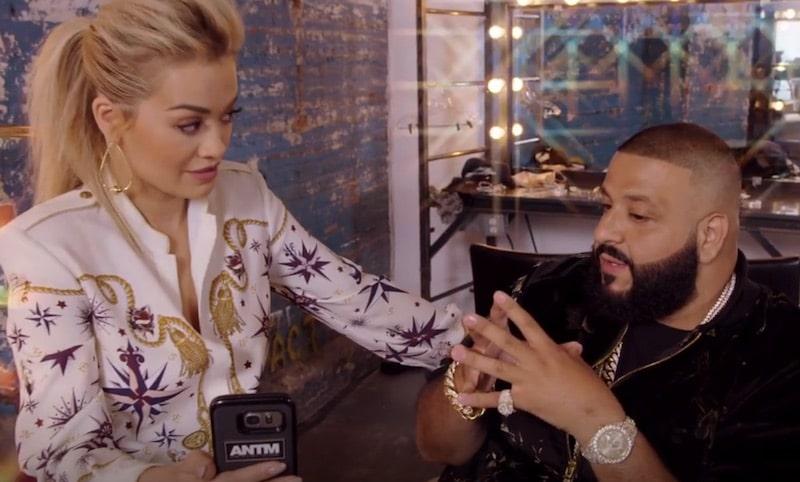 DJ Khaled judges lingerie snapchats on America's Next Top Model