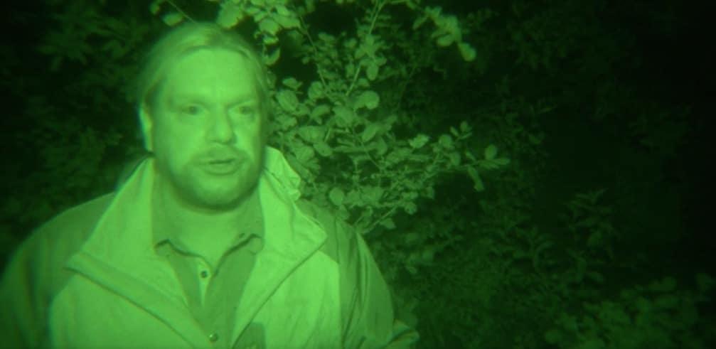 Matt hears Bigfoot grunts
