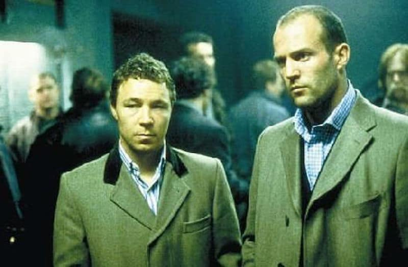 Stephen Graham alongside Jason Statham in Guy Ritchie's Snatch