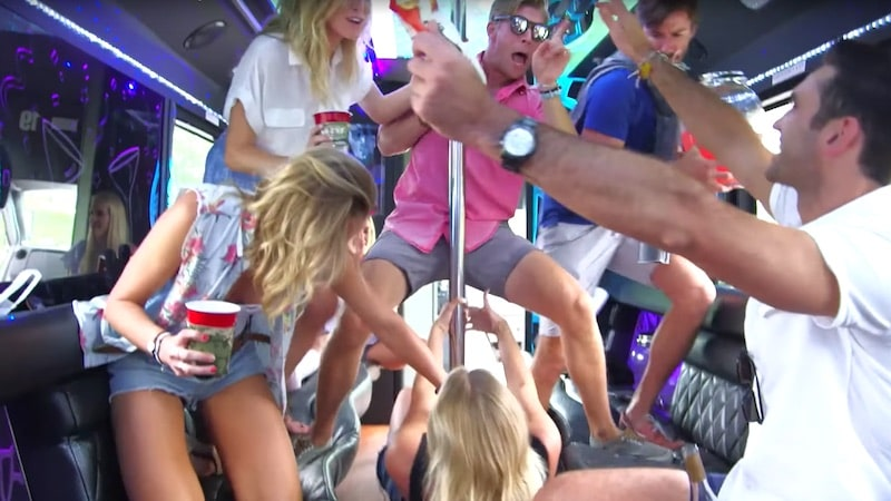 The friends of Bravo's new series Summer House partying