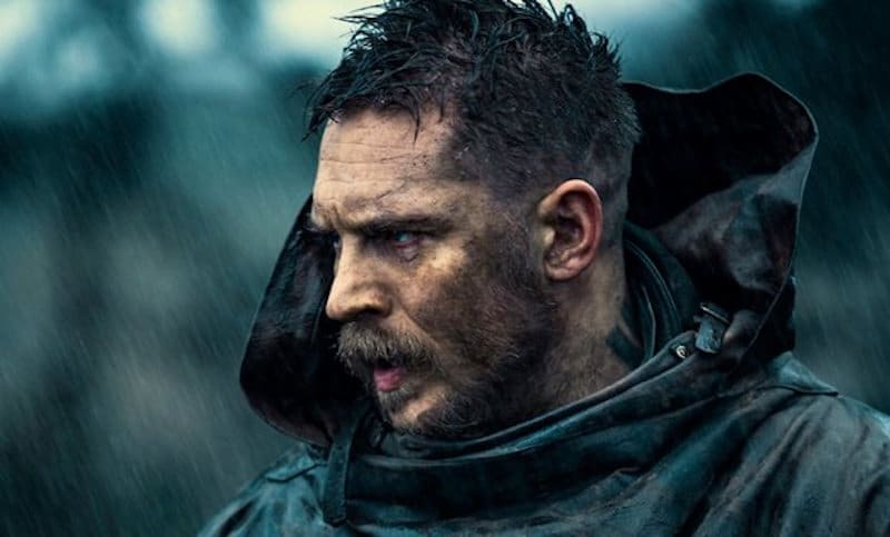 Tom Hardy as James Delaney in Taboo, which centers around the real-life Nootka Sound
