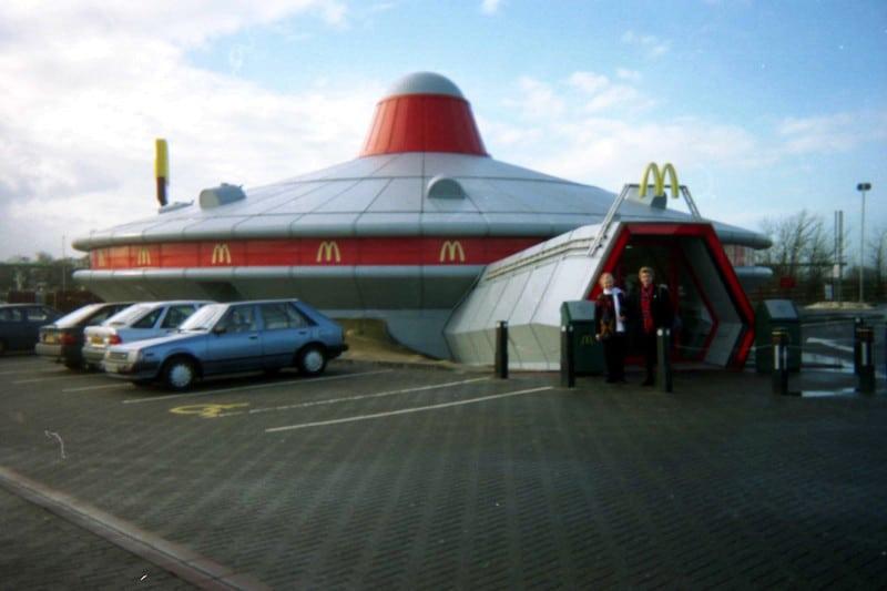 The UFO Mcdonald's