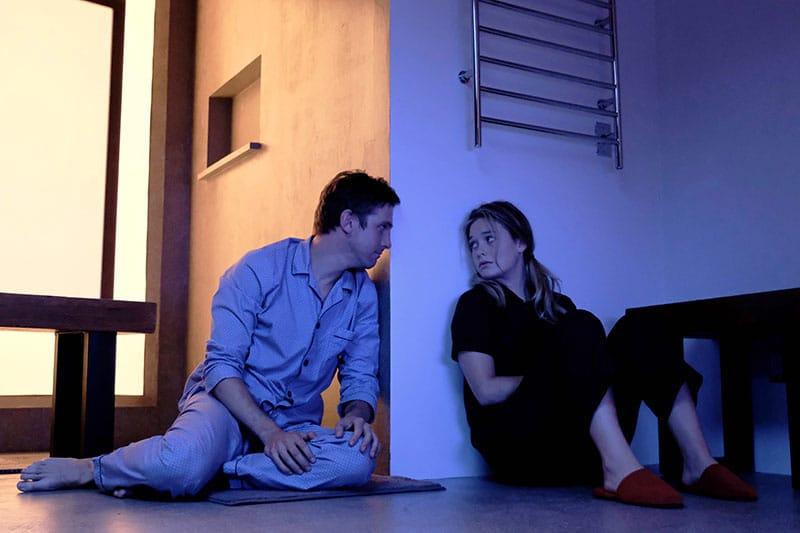 "LEGION -- ""Chapter 3"" – Season 1, Episode 3 (Airs Wednesday, February 22, 10:00 pm/ep) -- Pictured: (l-r) Dan Stevens as David Haller, Rachel Keller as Syd Barrett. CR: Michelle Faye/FX"