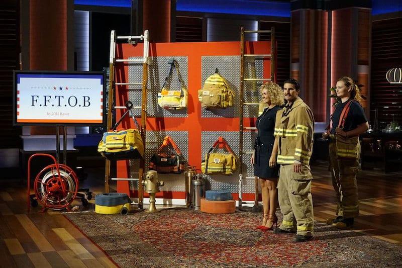 Firefighter Turnout Bags Niki And Matt Rasor Earing On Shark Tank