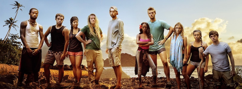 The 10 contestants that make up the cast of MTV's Stranded With a Million Dollars