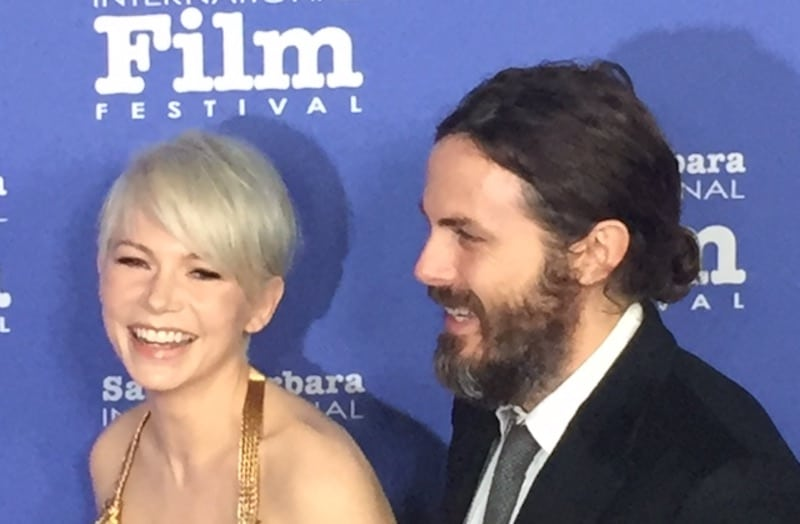 Michelle Williams and Casey Affleck at the Santa Barbara International Film Festival