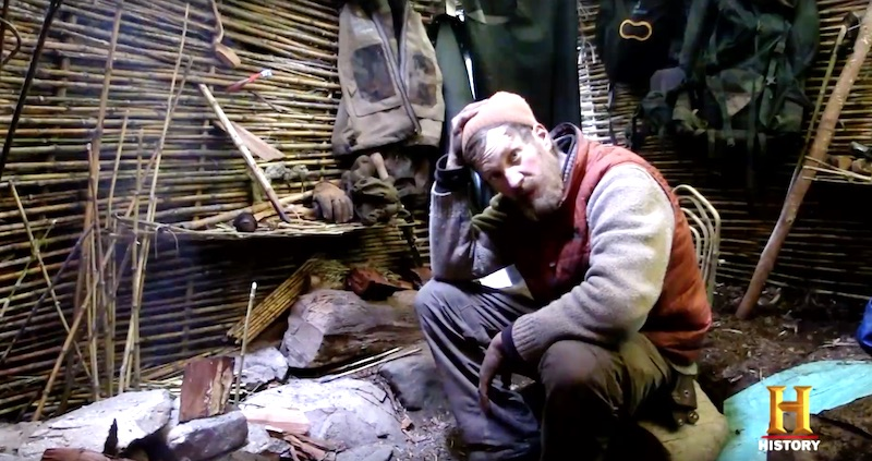 Fowler, depressed and starving, has a total breakdown on this week's episode of Alone