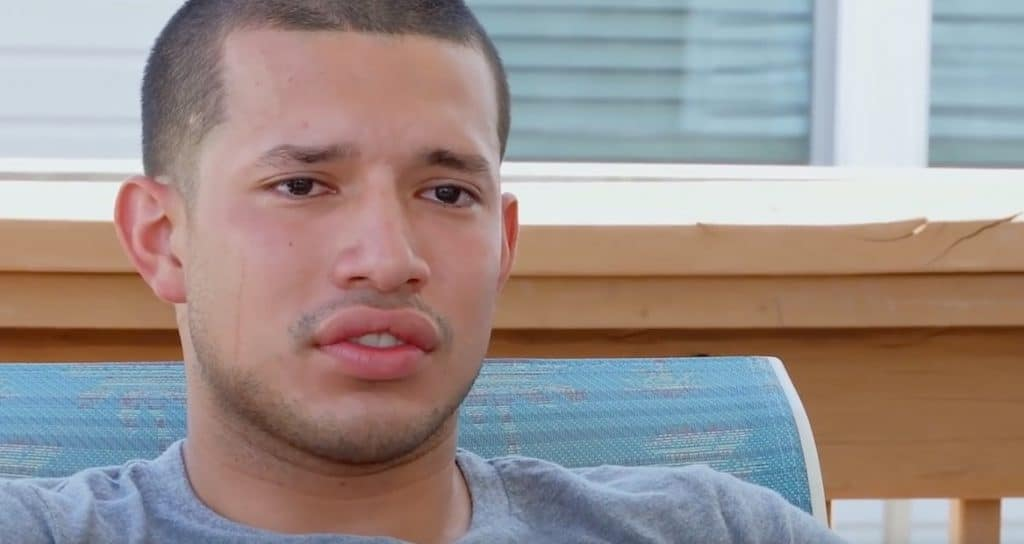 Tears dry on their own for Javi on Teen Mom 2