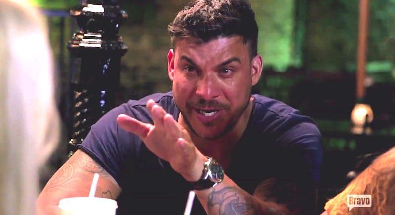 Jax breaks down in tears as he apologizes to Stassi on Vanderpump Rules