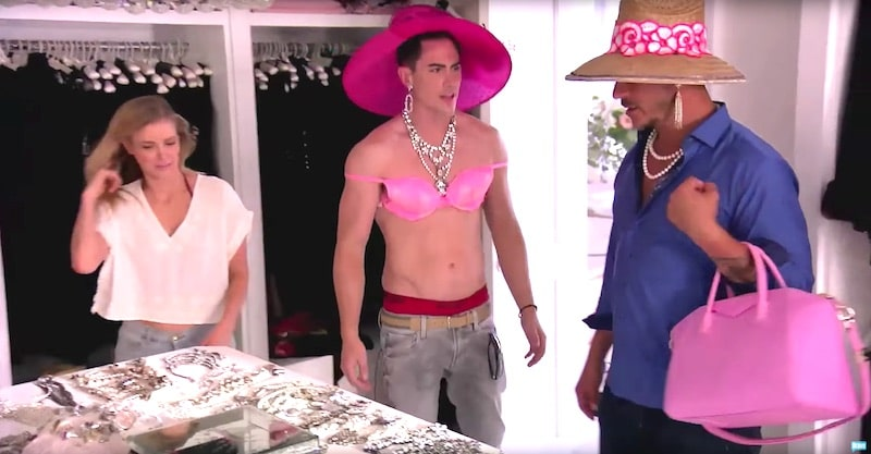 Tom Goes Lingerie Shopping In Lisa Vanderpumps Closet