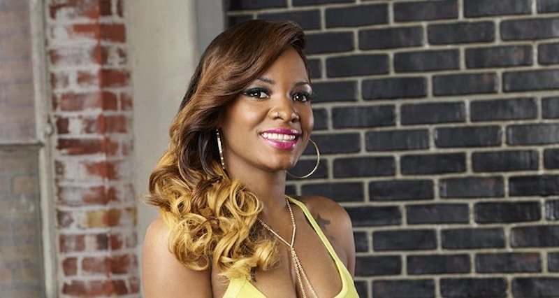 Keyaira Hamilton in her promotional pic for Bad Girls Club Season 17 on Oxygen