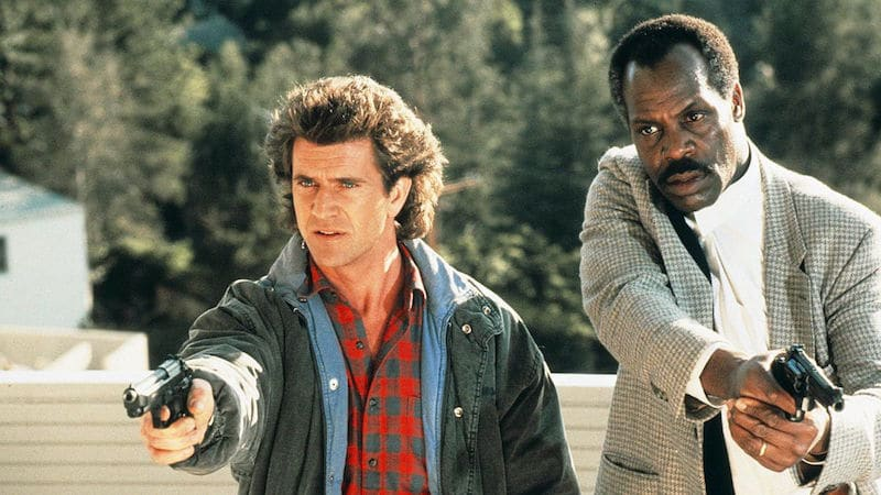 Mel Gibson & Danny Glover as the original Riggs and Murtaugh