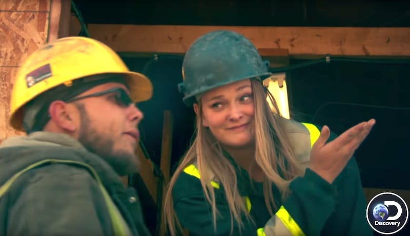 Monica Beets talks to Kevin on Gold Rush