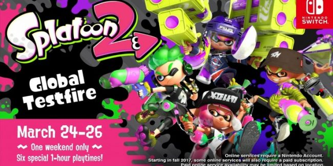 Splatoon 2 Global Testfire event gives fans early access to upcoming Nintendo Switch game