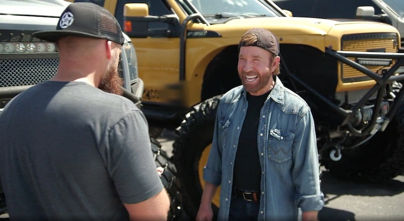 How to win the 'Truck Norris' Chuck Norris truck on Diesel Brothers