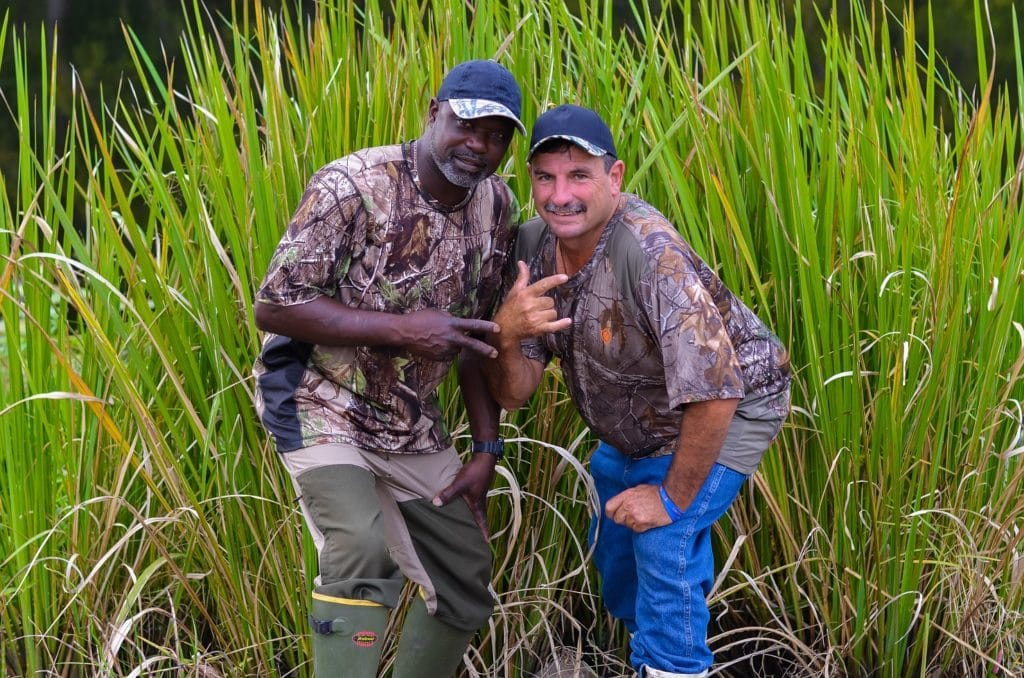 Gee and Frenchy from Swamp People