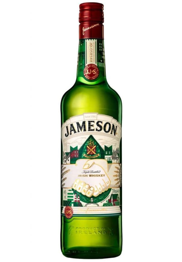 The new Jameson bottle is a striking marker of Irish history and the spirit of Dublin