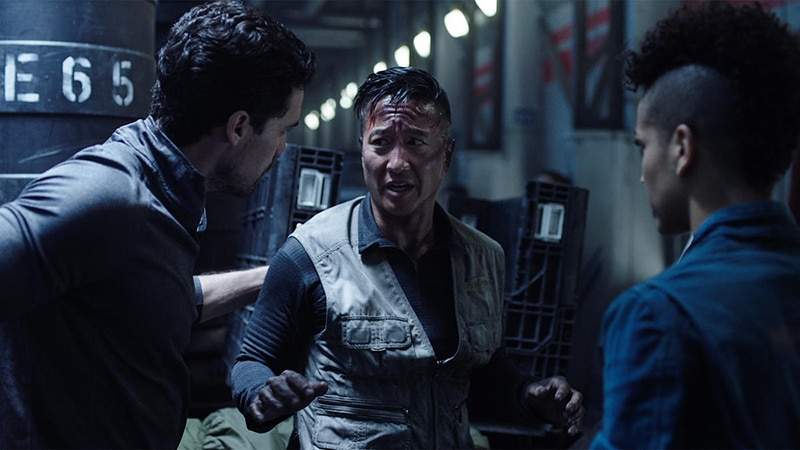 The Expanse: Holden and Naomi question Dr. Meng