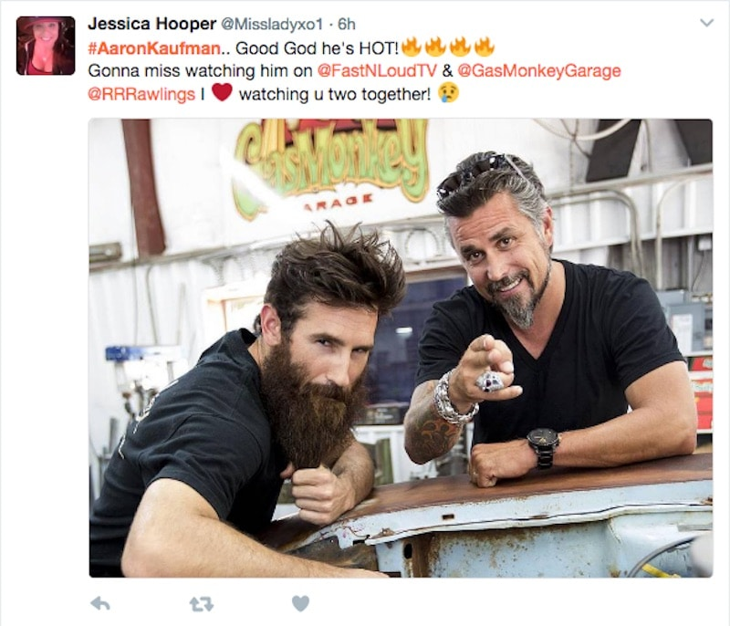 Fans call for Aaron Kaufman to new TV show as he