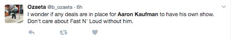 Aaron Kaufman tribute