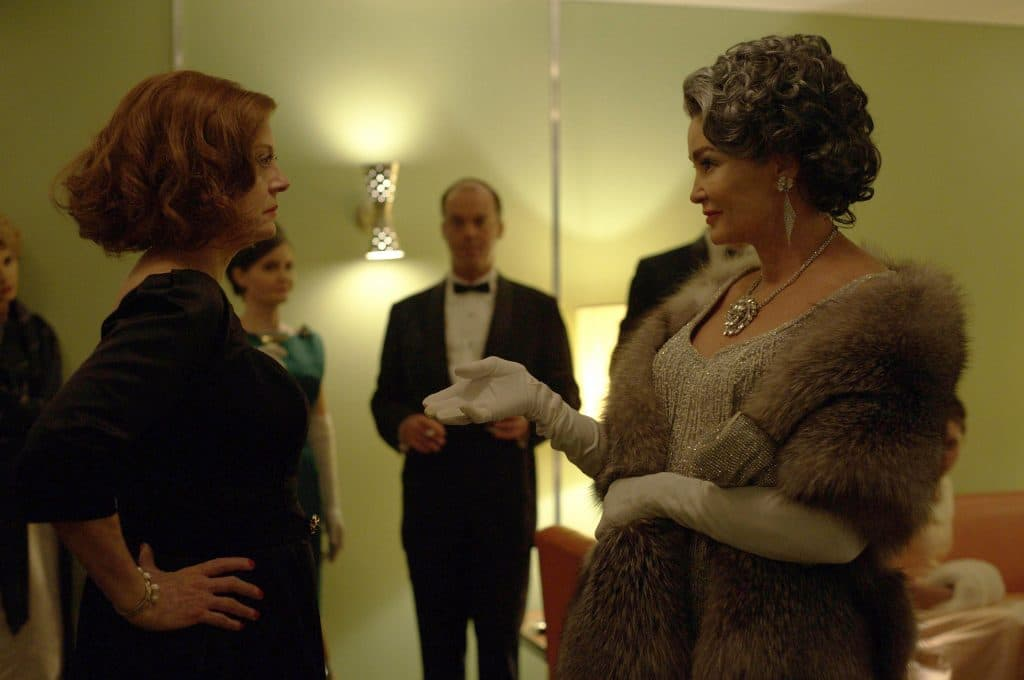 Susan Sarandon and Jessica Lange star in FX's wickedly masterful effort Feud