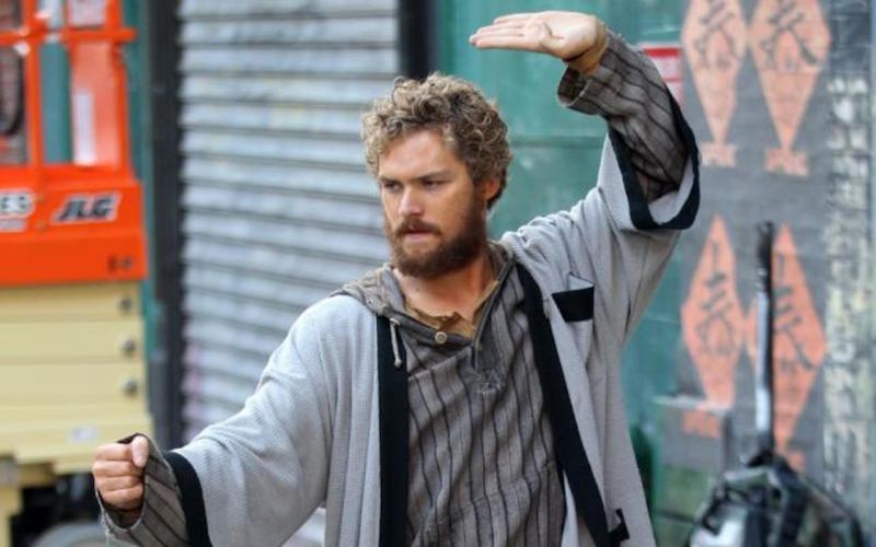 Finn Jones starring as Danny Rand in Marvel's Iron Fist on Netflix