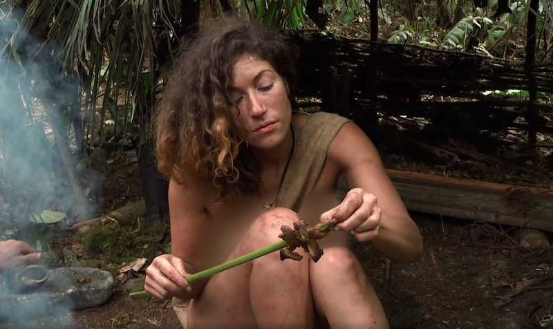 Naked and afraid without censure-3898
