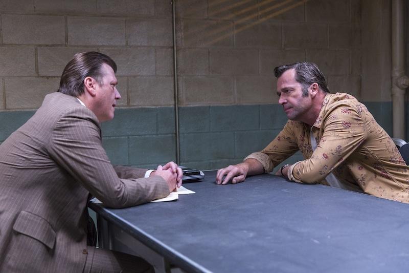 Douglas M. Griffin as Det. Charlie Blank, James Purefoy as Hap Collins