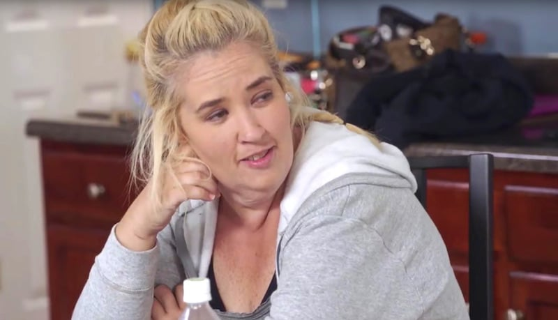 Mama June seems to think it's funny, but Kenya thinks it's anything but