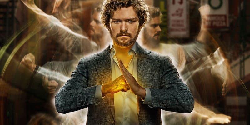 Finn Jones as Danny Rand in Marvel's Iron Fist on Netflix