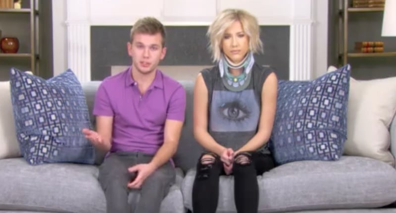 Savannah and brother chase talking to the camera on this week's Chrisley Knows Best