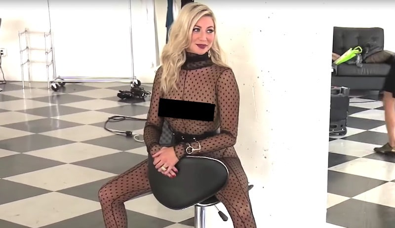 Stassi Schroeder's nearly-nude photoshoot on Vanderpump Rules
