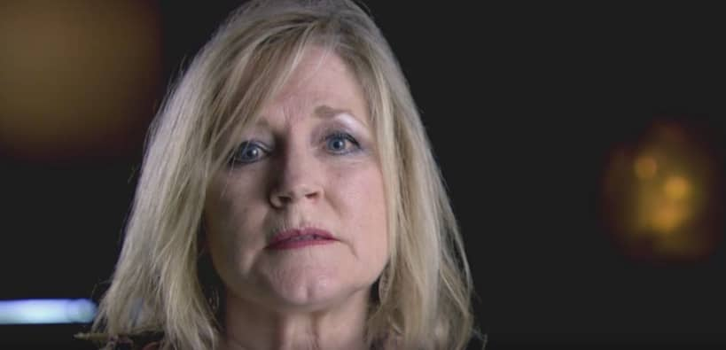 Susan Hamlin seen here talking to Investigation Discovery about the case