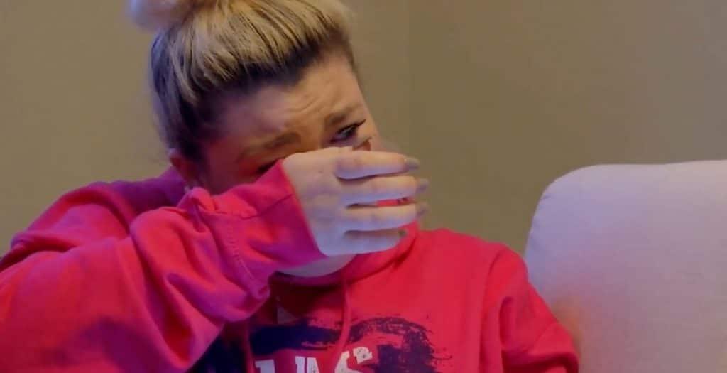 Amber cries on Teen Mom OG
