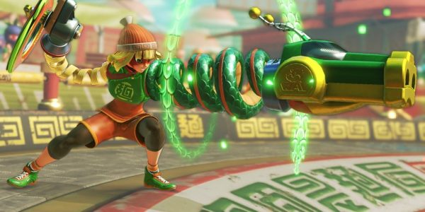 Nintendo Switch: New videos and release dates for ARMS and Splatoon 2