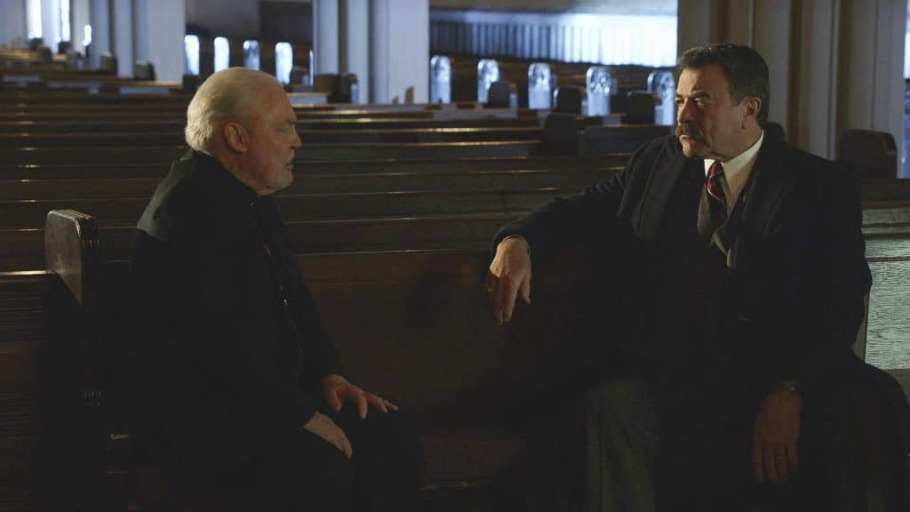 Who is Stacy Keach who plays Archbishop Kevin Kearns on Blue Bloods?