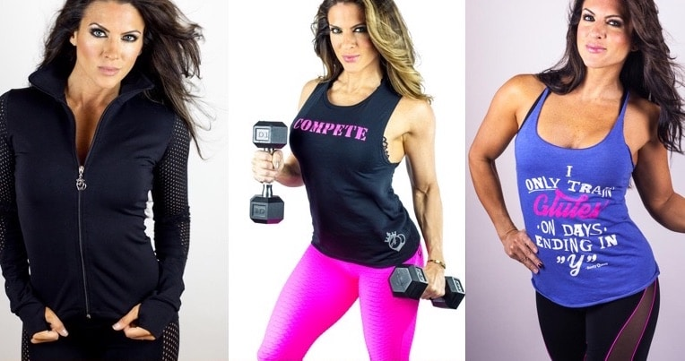 Some examples of the BootyQueen Apparel line, as featured on Shark Tank
