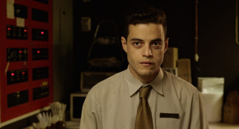 Rami Malek as Buster in Buster's Mal Heart.