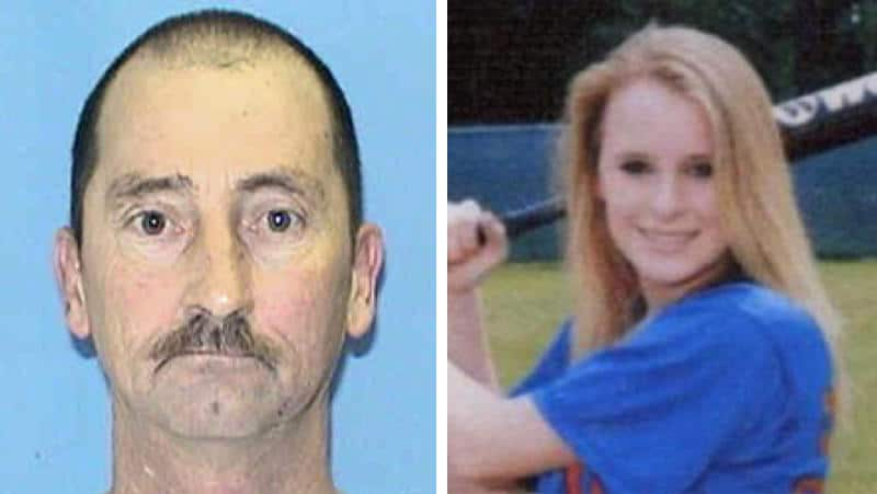 Killer Kenneth Osburn, left, and his victim Casey, right.