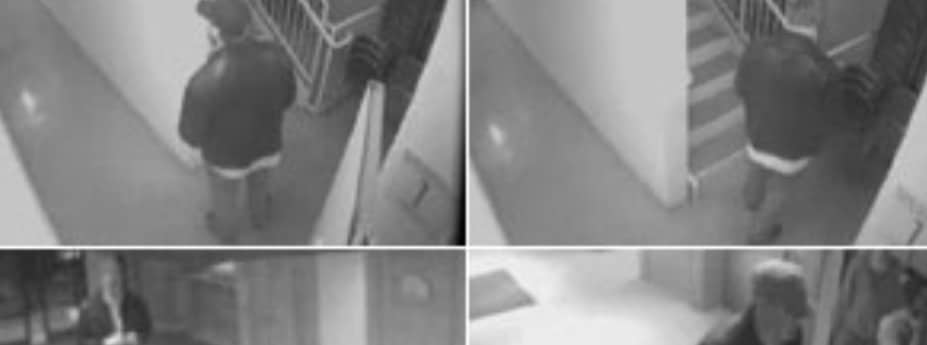 CCTV footage police released at the time