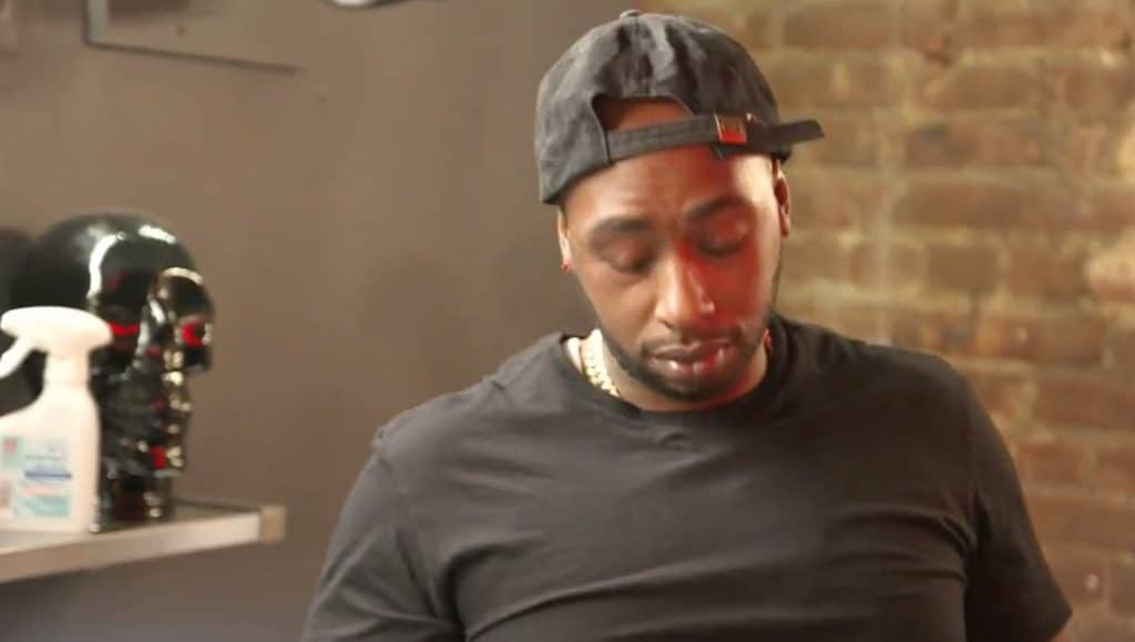 Ceaser has those doghouse blues on Black Ink Crew